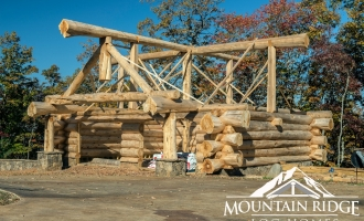 Log Home Shells Gallery