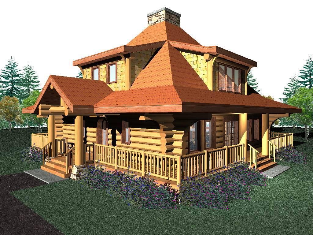 Eagle s nest 1777 sq ft log home kit log cabin kit for Log cabin kits 2000 sq ft