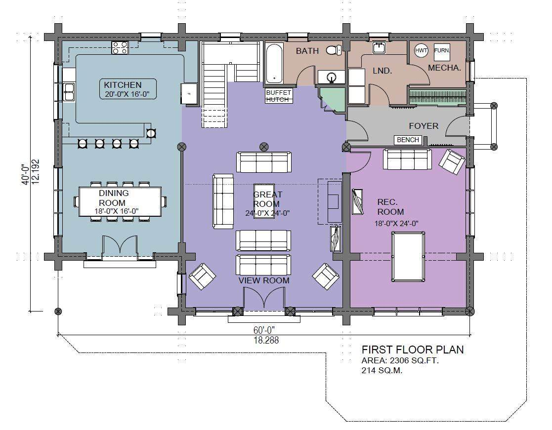 4 Bedroom Log Home Plans House Plans With Guest House Attached Log Home Floor Plans With