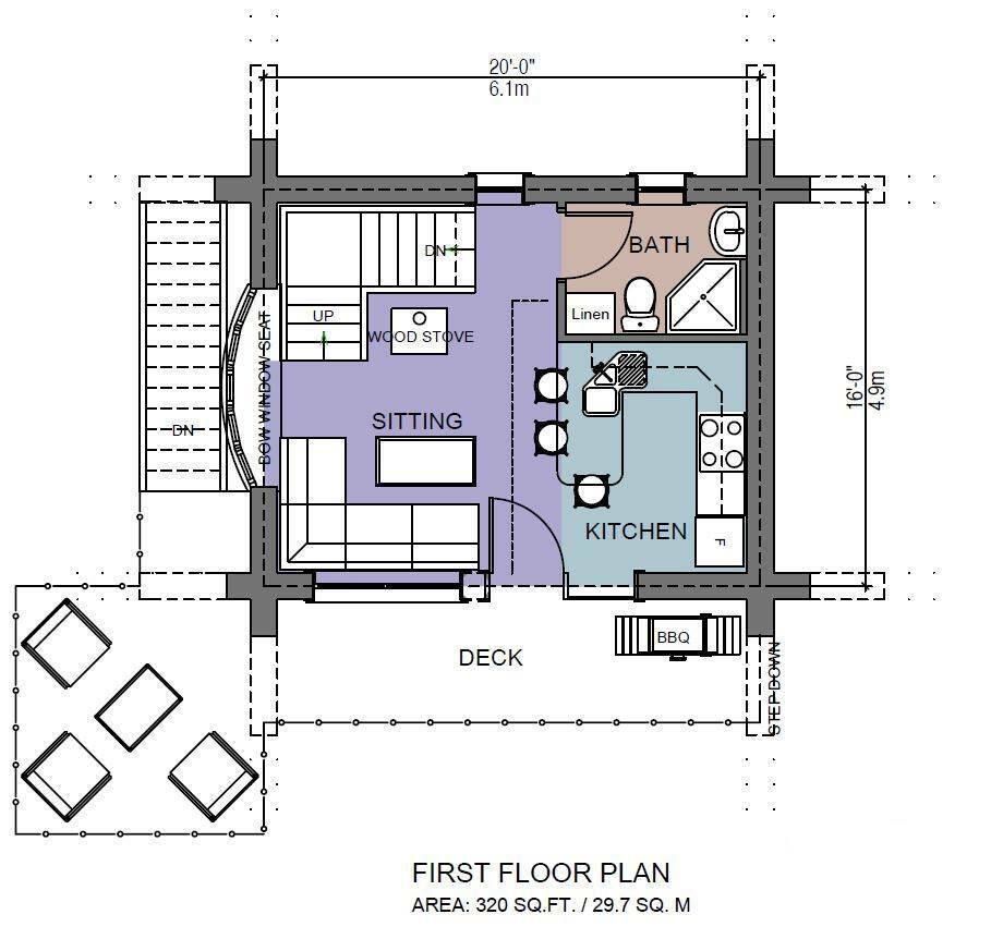 Bachelor 484 sq ft log home kit log cabin kit mountain ridge - Bachelor 484 Sq Ft Log Cabin Kit 3 484 Sq Ft Log Home Plans