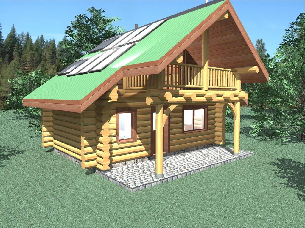 Bachelor 484 sq ft log home kit log cabin kit mountain ridge - Bachelor 484 Sq Ft Log Home Kit Log Cabin Kit Mountain Ridge 5