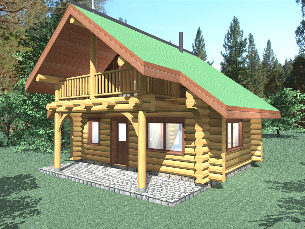 Small cabin kits loft joy studio design gallery best for 500 square foot cabin