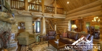 Log Home Interior Gallery