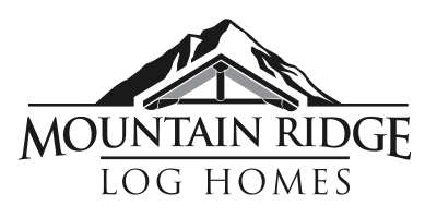 Mountain Ridge Log Home Logo