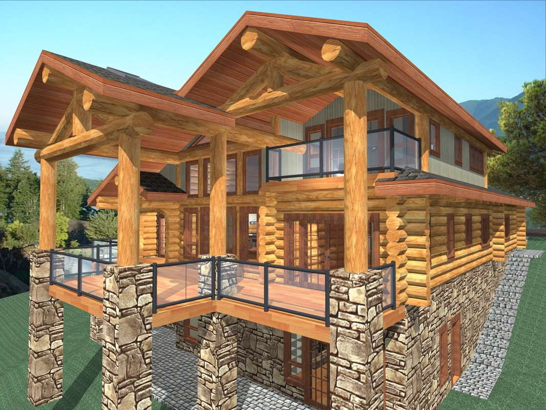Sun Peak 1885 sq ft Log Home Kit | Log Home Plans - Mountain Ridge Cabin House Plans Under Sq Ft on cabin plans under 800 sq ft, cabin plans under 1200 sq ft, cabin plans under 1100 sq ft, cabin plans under 1500 sq ft,