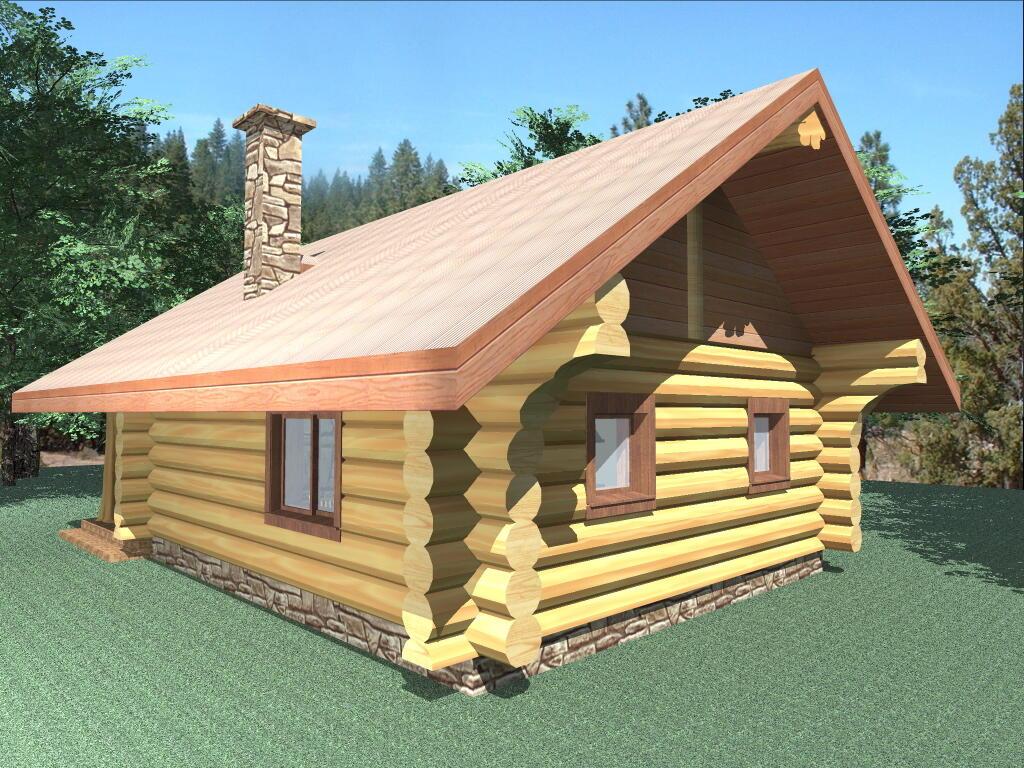 600 Sq Ft Log Cabin Plans